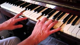 �������� ���� Jerry Lee Lewis style country piano tutorial with solo ������