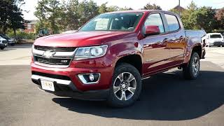 2019 Chevy Colorado Z71 Review - Start Up, Revs, and Walk Around