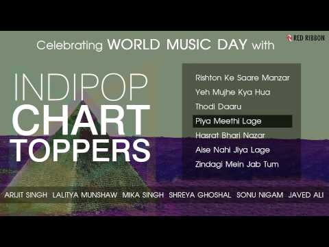 Celebrating World Music Day - Audio Juke Box - Full Songs - Indipop Chart Toppers