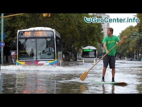 Аргентина. Мощное наводнение январь 2018.Что произошло в мире.