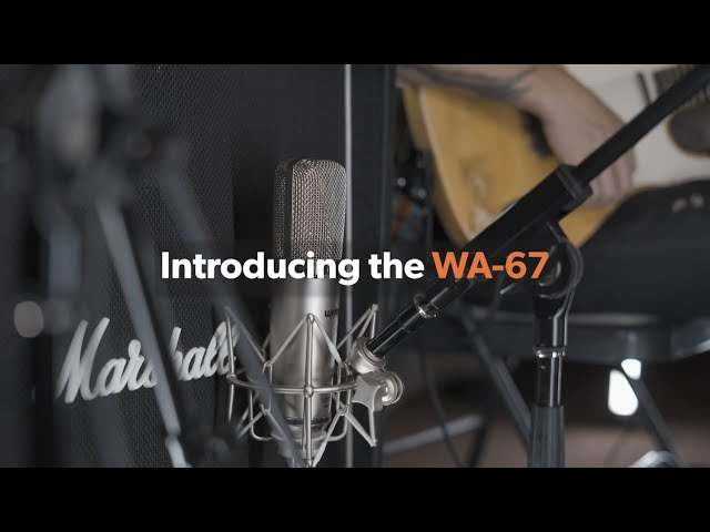 Introducing The New WA-67 Microphone From Warm Audio! Featuring