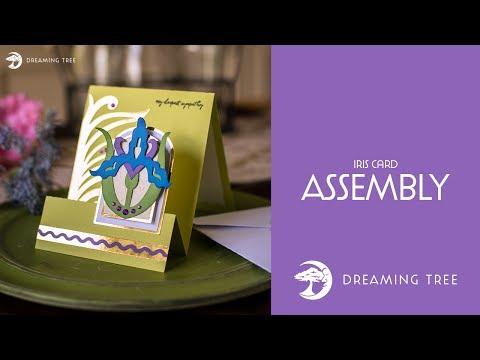 SVG File - Iris Card - Assembly Tutorial