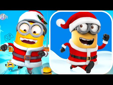 despicable me minion rush christmas update gameplay - Minion Rush Christmas