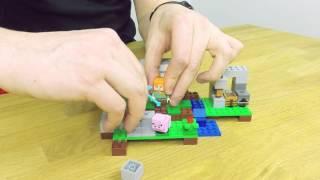 The Iron Golem - LEGO Minecraft - Model Presentation 21123