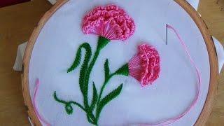 Bordado a mão: Flores