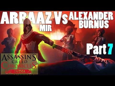 Assassin Creed Part Walkthrough Part 7 || Arbaaz Mir Vs Alexander Burnus [in Hindi]