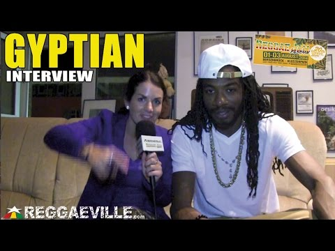 Interview with Gyptian @ Reggae Jam 2014