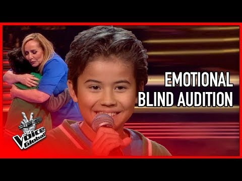 Cute Boy Honors Mother With EMOTIONAL SONG In The Voice | STORIES #2