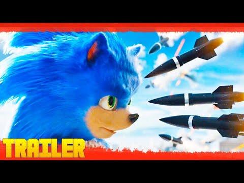 Sonic La Película 2019 Primer Tráiler Oficial Español