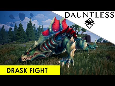 Dauntless - Drask Full Fight Playthrough [OUTDATED] Gameplay