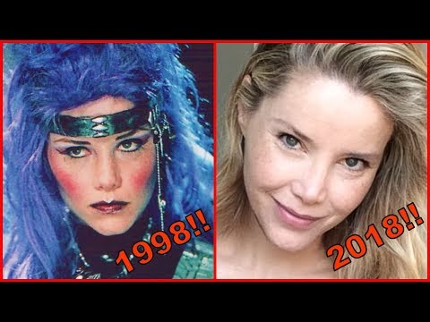 Power Rangers In Space Then And Now 2018|In Space Before And After!(1998-2018)