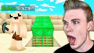 Odkryłem z BOBO SEKRETNĄ BAZĘ KOLEGI pod MILIONOWICAMI w Minecraft!