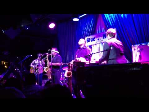 """Jack Rabbit"" - The Greyboy Allstars featuring James Carter in New York City 06. 25. 13"