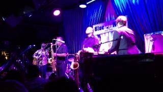 """""""Jack Rabbit"""" - The Greyboy Allstars featuring James Carter in New York City 06. 25. 13"""