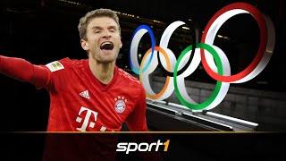 Thomas Müller flirtet mit Olympia-Teilnahme | SPORT1 - DER TAG