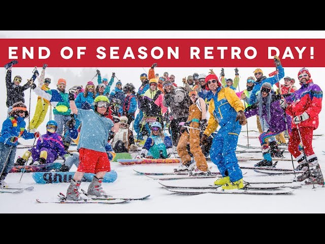2018 End of Season Retro Day!