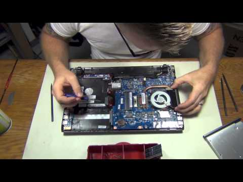 How To: Sony Vaio Laptop - Fan Cleaning Step By Step