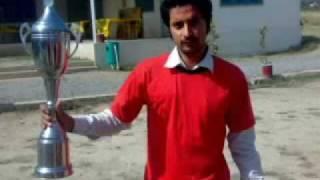 Hazara university havelian (Cricket champions) by Arslan shani