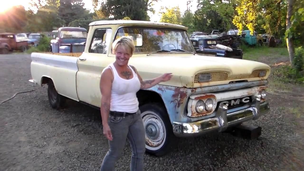 1960 Gmc Deluxe Fleetside Youtube