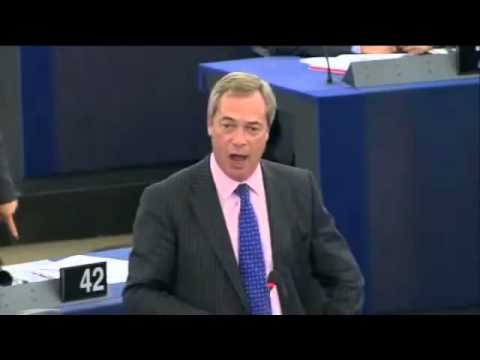 UKIP Nigel Farage launches into Guy Verhofstadt  during Syria debate - Sep 2013