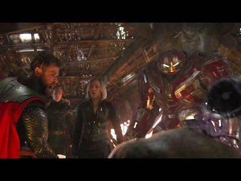 Тор убивает Таноса | Мстители: Финал (2019)