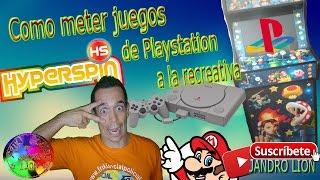 Como meter juegos de Playstation a la recreativa. #frikiretrogamer #frikisocial