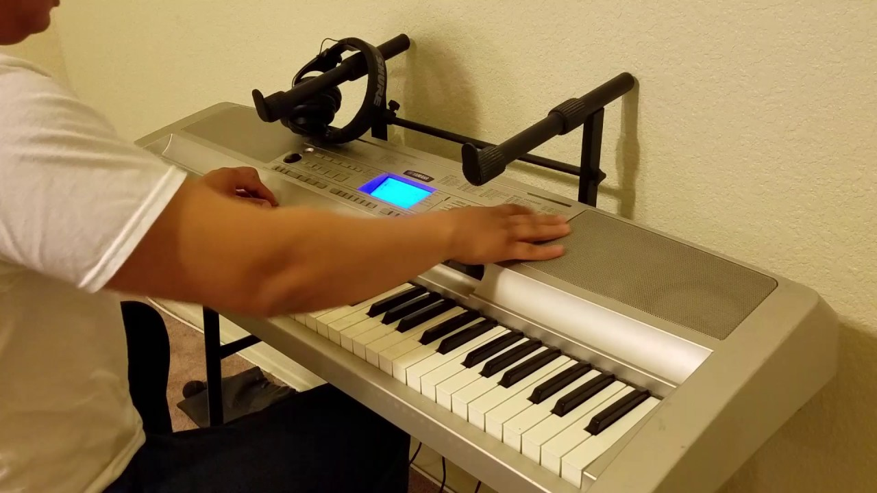 How to make a beat - On a cheap keyboard