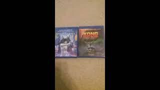 King Kong Skull Island blu ray unboxing