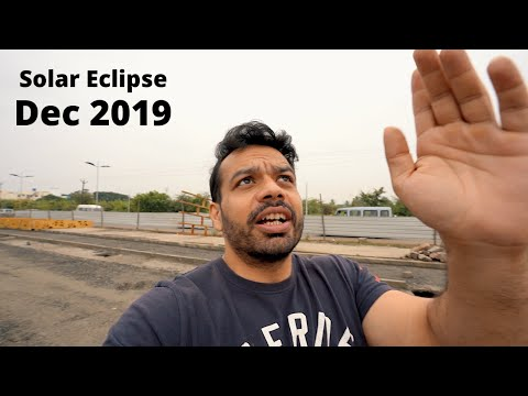 Catching The Solar Eclipse 26th Dec 2019 LIVE !