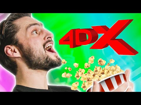 We Tried a Surround-Screen Movie Theater!