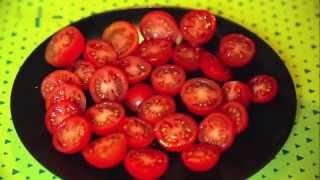 Как быстро разрезать помидорки?