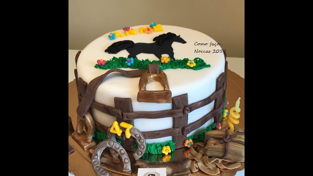 """Bolo De Aniversário: Bolo Aniversário """"cavalo"""""""
