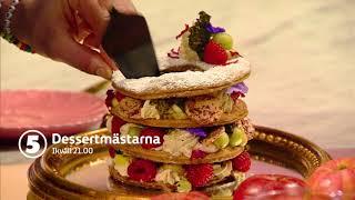 Dessertmästarna ikväll 21.00 på Kanal 5!