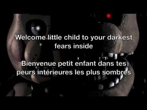 Break My Mind - FNAF Lyrics English/Français