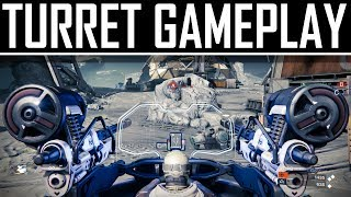 New Destiny Gameplay - Gun Turret Action & Interceptor Vehicle!