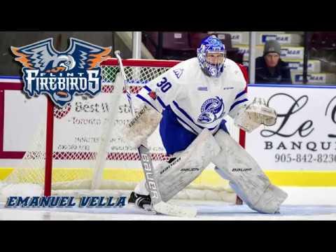 Video: Flint Firebirds Acquire Overage Goaltender Vella from Mississauga