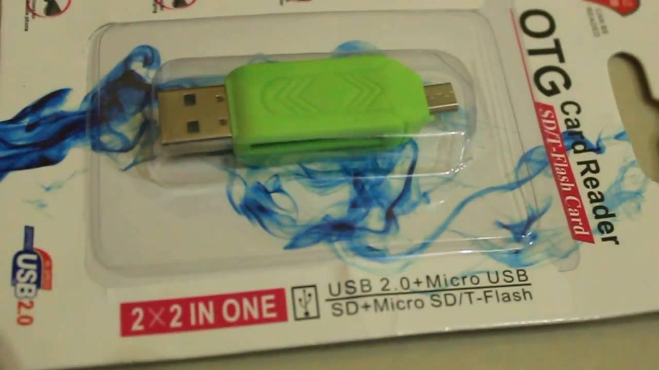 Universal Micro Usb Sd Tf Card Reader Bb4 20 Otg T Flash For Mobile And Laptop