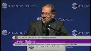10 - Atlantic Council Freedom Award for H.E. Javier Solana