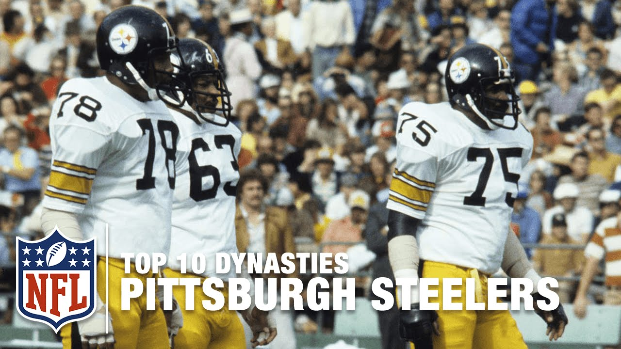new concept e55d8 83391 NFL Top 10 Dynasties: '70s Pittsburgh Steelers