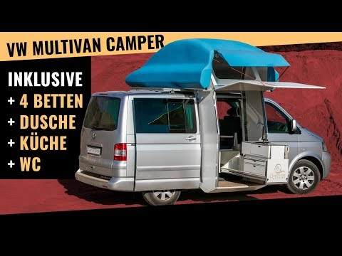 VW Multivan Campingbus 👆 Familientauglich und alles drin. So gehts!