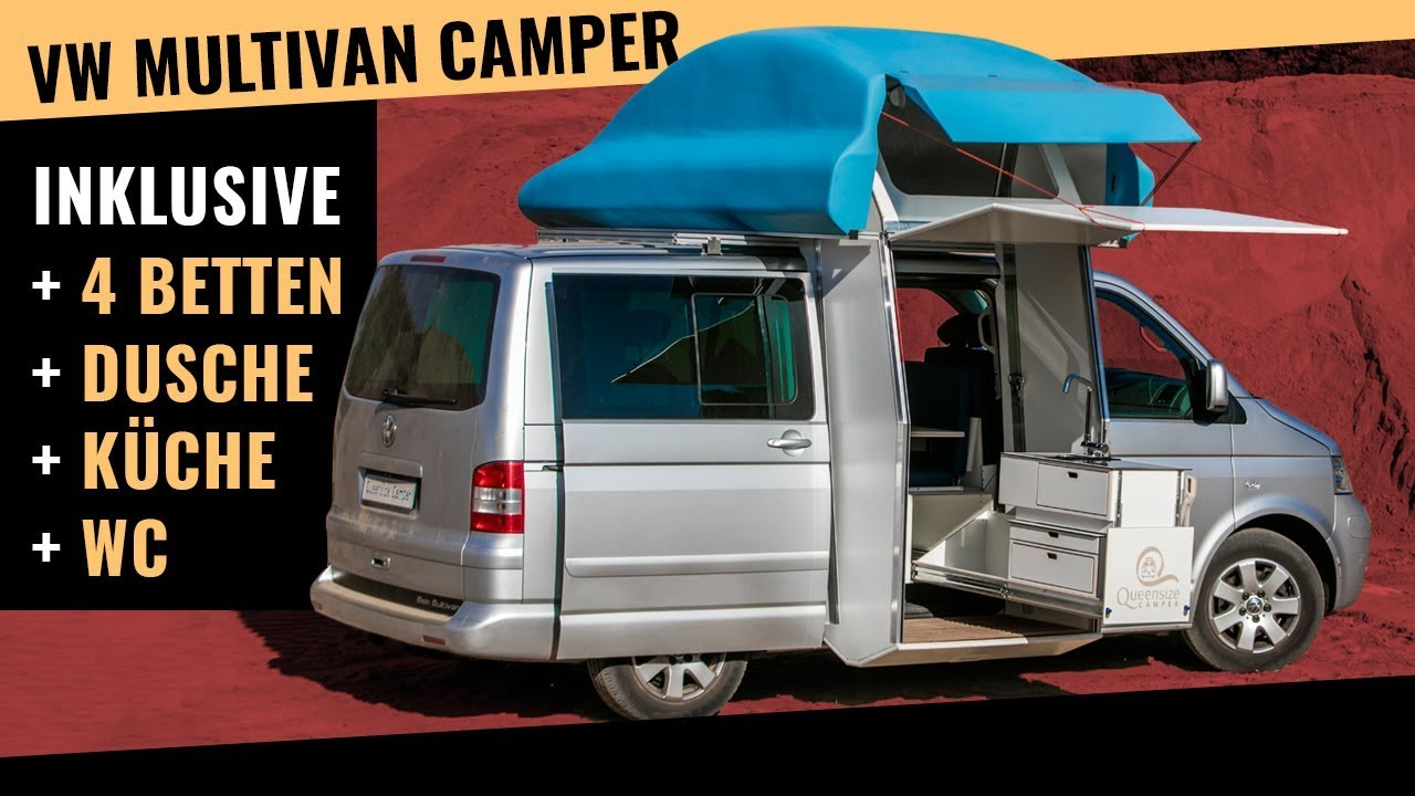 Outdoor Küche T5 Volkswagen Multivan Campervan Ready To Go Camping With Your Entire Family