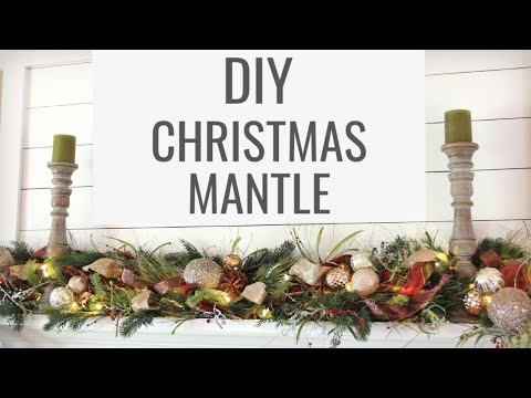 Christmas Mantle Decorating Ideas