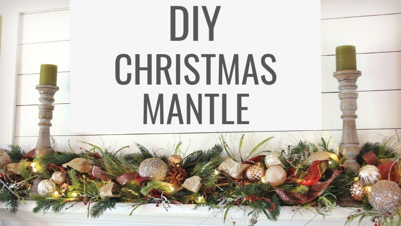 Decorating Christmas Mantels