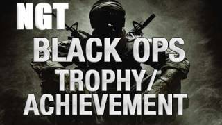 See Me, Stab Me, Heal Me Black Ops Trophy / Achievement Guide