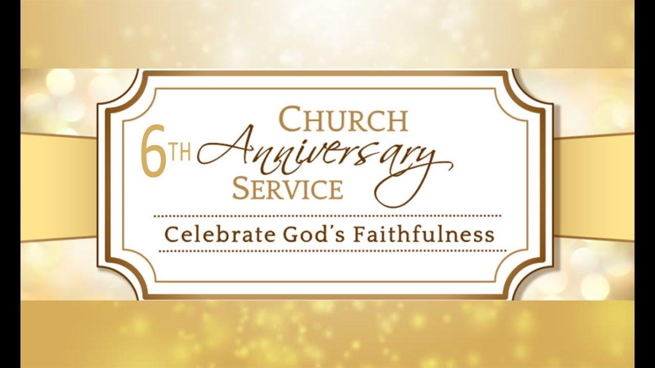 Church Anniversary Agape Grace Fellowship Youtube