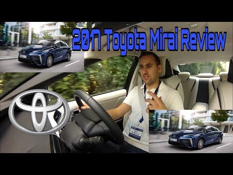 2017 Toyota Mirai with Hydrogen Fuel Cell technology
