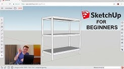 How To 3D Model Furniture in Sketchup | Sketchup for Woodworking