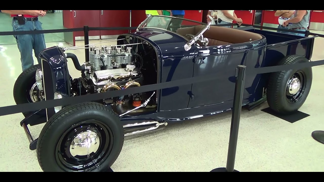 1932 Ford Roadster PickUp NSRA Give Away Car 2014 - YouTube