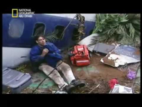 تحطم الطائرة الامريكية American 965 الجزء الرابع - YouTube