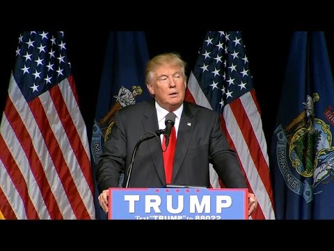 Full Video: Trump talks trade and ISIS at Maine rally